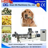 Buy cheap Automatic pet dog chewing/treats food making machine manufacturer twin screw extruder from wholesalers