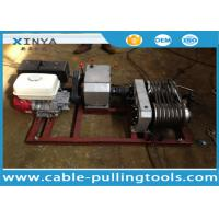 5T Wire Rope HONDA Gasoline Winch Tower Erection Tools Manufactures