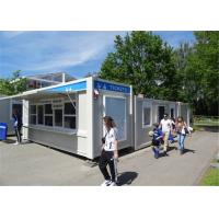 China PU Panel Modern Customized Conex Box Homes For Shop Easy To Be Assemble And Disassemble on sale