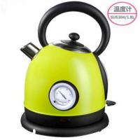 China electric kettle with temperature dial display 1.8 L 304# stainless steel strix temp. controller on sale