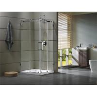 Corner Shower room 304 stainless steel Rail bar Material for bathroom 100X100X195/cm Manufactures