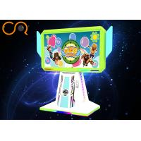 China VR Stand Up Arcade Games Machines / Virtual Game Simulator Printed Pattern on sale