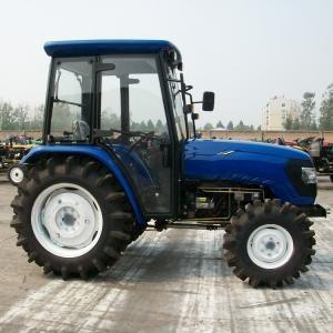 4×4 Wheeled Type Diesel Farm Tractors , 55hp Farm Mini Farm Tractor OEM Brand Manufactures
