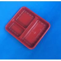 Buy cheap biodegradable disposable plastic meal tray container from wholesalers