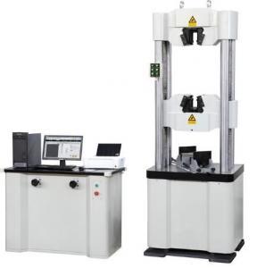 WAW-1000D Series Servo Hydraulic Testing Machine 1/300000 Load Resolution Manufactures