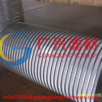 stainless steel selfcleaning filter used wedge wire basket OD350x600MM Manufactures