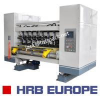 03 Ply Corrugated Box Machine HRB-150-1800 Automatic 320mm Corrugated Roller Manufactures