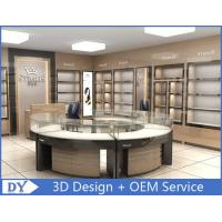 Round Glasses Jewellery Shop Counter Design Manufacturers Manufactures