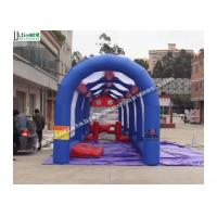Outdoor Bouncy Assault Course Football Inflatable Games For Adults Or Children Manufactures