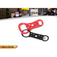 China Double End  38 mm Head Shackle Two Color Body Aluminum Lockout Hasp on sale