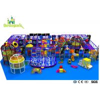 Pre - School Play And Party Indoor Playground , Indoor Bouncing Playgrounds Manufactures