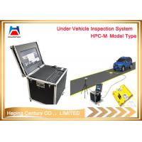 Parking Lot Under Vehicle Safety Inspection System With CCTV Camera And LED scanner Manufactures
