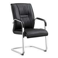 China Durable Non Swivel Desk Chair , Home Office Leather Desk Chairs High End on sale