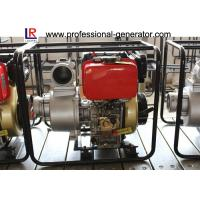 3 Inch Single Cylinder Diesel Agricultural Water Pump Self - Priming Centrifugal Manufactures