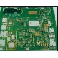 1OZ Copper Thickness HDI Printed Circuit Boards FR-4 TG150 Base Material 0.10mm Hole Manufactures
