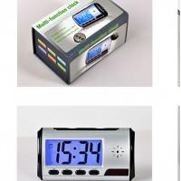multifunction digital hidden table clock hidden camera with good quality Manufactures