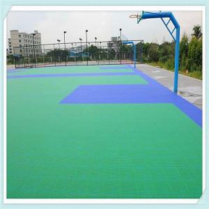China 2015 Hot sale! PP interlocking floor tiles for badminton court on sale