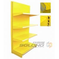 China Plain Back Gondola Wall Units For Pharmacy / Convenience Store Shelving on sale