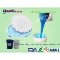 Platinum cure Silicone Rubber RTV2 for Gypsum/Plaster Ceiling Domes Manufactures