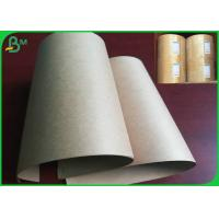China 50gsm 60gsm Disposable FSC And FDA Certificate Brown Kraft Paper In Street Food Market on sale