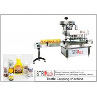 China High Speed Spindle Bottle Screw Capping Machine Flexible With 60-150 Bottles / Min on sale