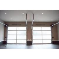 China Standard Overhead Aluminum Sectional Door Finger Safe Panel  Smoothly With Motor on sale