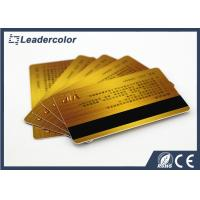 Management System RFID Chip Card With Magnetic Strip Standard Size Manufactures