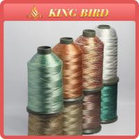 Multicolor 120D/2 Polyester Embroidery Thread for Hand Knitting Manufactures