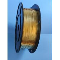 Buy cheap 2.0* 0.4 Mm Copper Ribbon Wire Headphone Wire Copper Buckle Quality from wholesalers