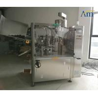 Aluminum Tubes Automatic Filling Sealing Machine For Pharma / Food / Chemical Manufactures
