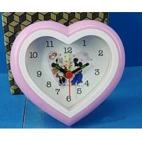 Different Cute Shapes Plastic Case Cartoon Dial Gift Watch , Alarm Clock Manufactures