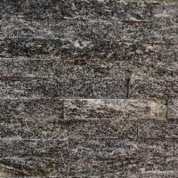Gray Granite Culture Stone Ledge Panel Wall Cladding Polished Surface Manufactures