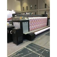 China High Accuracy Digital Textile Printing Machine With Dye Sublimation System on sale