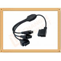 China OBD 16 Pin obd2 extension cable Y Type with UL and Rohs standard CK-MF16Y03L on sale