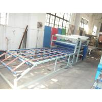 Corrugated Wall Making Machine , Glue Spreading / Overlaying / Drying Straw Board Manufacturing Process Line Manufactures