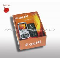 China Luxury Cell Phone Packaging Box , Orange Printed Cardboard Boxes on sale