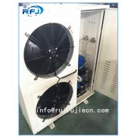 China DD-2.8/15 DD Series Air Cooled Condenser In Refrigeration , White / Black on sale