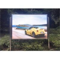 China Anti Dust Outdoor Full Color LED Display Screen With Ultra High Contrast on sale
