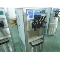 Soft Ice Cream Making Equipment Low Noise Food Grade Stainless Steel Material Manufactures