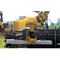 High Performance Hydraulic Trencher Rail Attachments High Construction Efficiency Manufactures