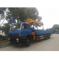 China best price China telescopic boom truck crane of 12 ton, 12tons telescopic crane boom mounted on cargo truck for sale on sale