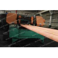 Horizontal casting machine 100mm Red Copper Pipes Copper Continuous Casting Machine Manufactures