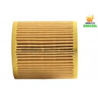 Small Flow Resistance Auto Oil Filters With Strong Filtration Ability Manufactures