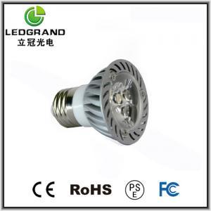 50mm 3000k - 6500K MR16 / E27 LED Spot Lamps LG-DB-1003C (12V DC, AC) Manufactures
