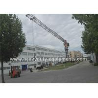 Tower crane 46m with max load of 10 tons and tip load 1.8 tons for construction Manufactures