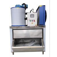 Fast Cooling Low Power Automatic Flake Ice Maker 1000kg/24h Easy To Move Manufactures
