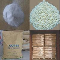 China CO-PES Hot Melt Adhesive Powder for heat transfer print on sale