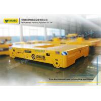 China Large Table Conductor Cable Power Pallet Transfer Carts , Rail Transfer Trolley Car on sale