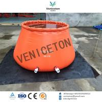 Quality Inflatable Top Open Plastic Water Storage Tank for sale