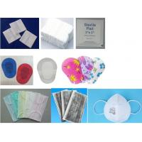 Buy cheap non-woven face mask, adhesive eye pad, gauze compress, jumbo gauze roll, x-ray thread etc from wholesalers